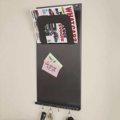 Vertical 3 In 1 Magnetic Memo Board
